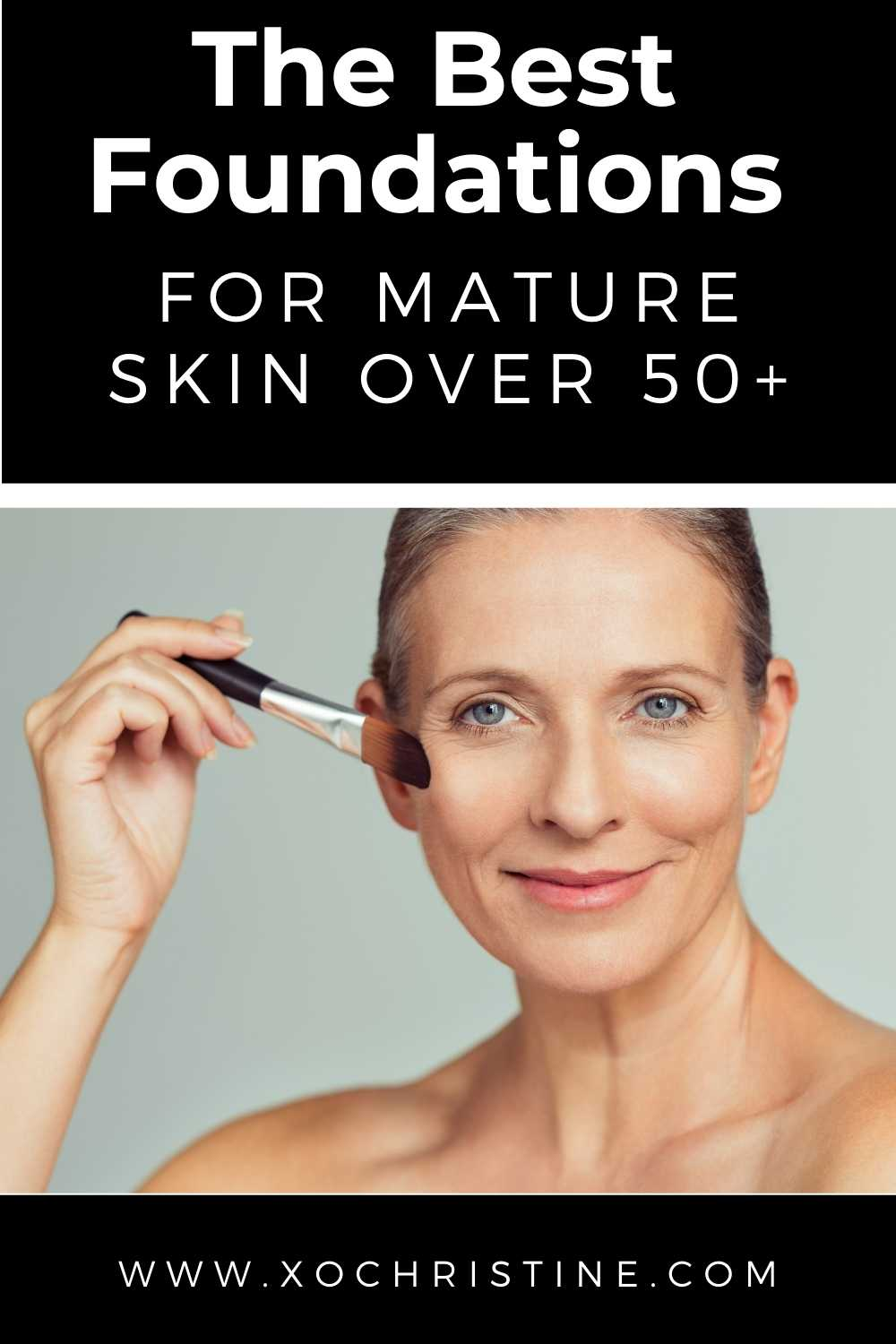 the best foundations for mature skin (women over 40+)