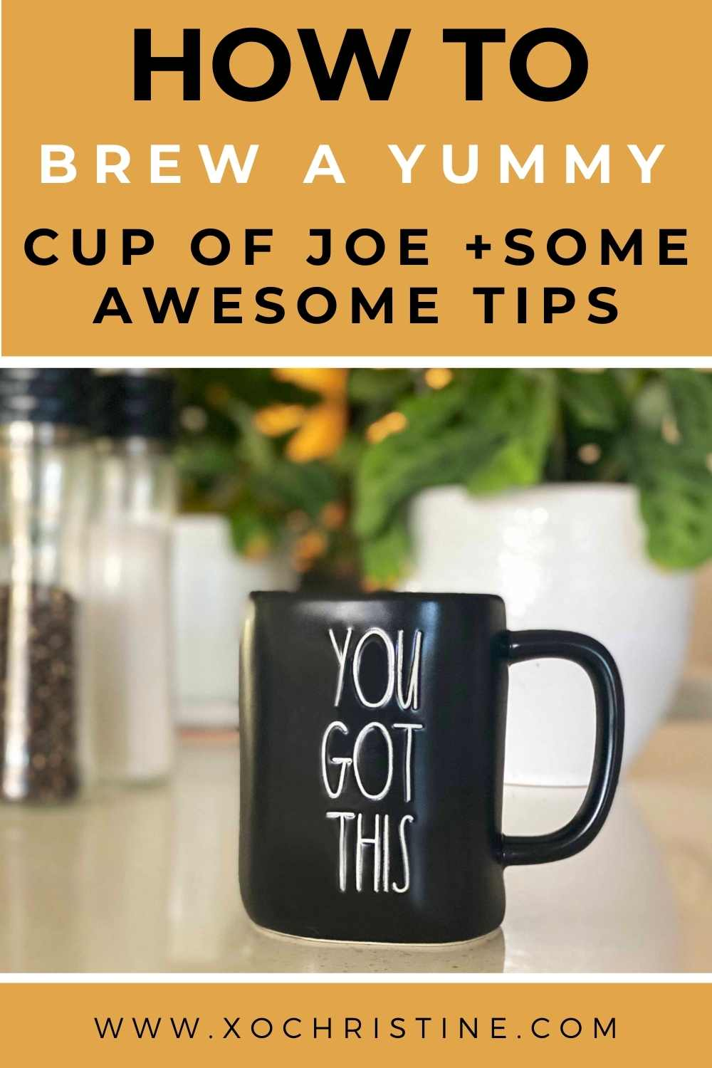 The best way to brew a yummy cup of joe at home